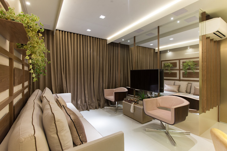 Living room by Matheus Menezes Arquiteto