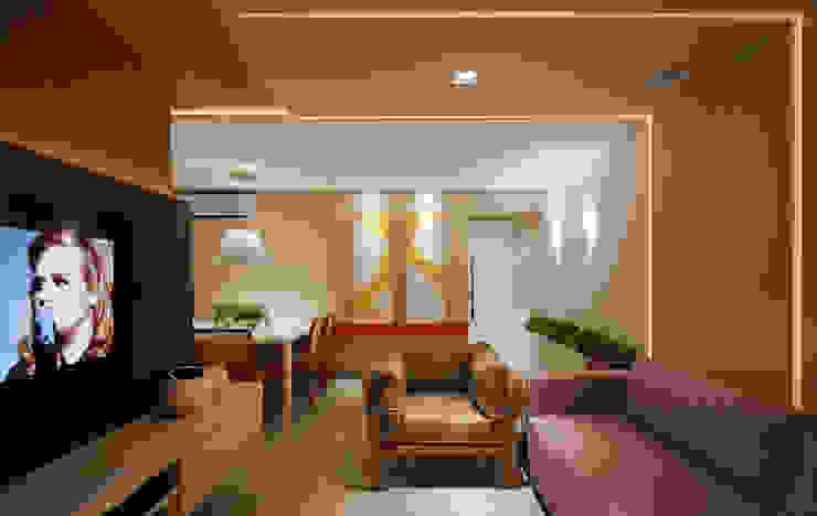 Livings de estilo moderno de Matheus Menezes Arquiteto Moderno