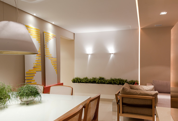 Dining room by Matheus Menezes Arquiteto