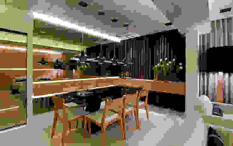 Comedores de estilo moderno de Matheus Menezes Arquiteto Moderno