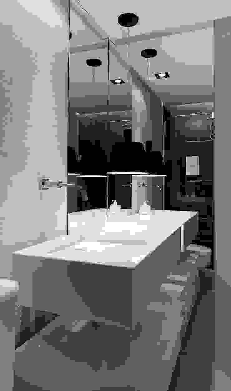 Baños de estilo moderno de Matheus Menezes Arquiteto Moderno