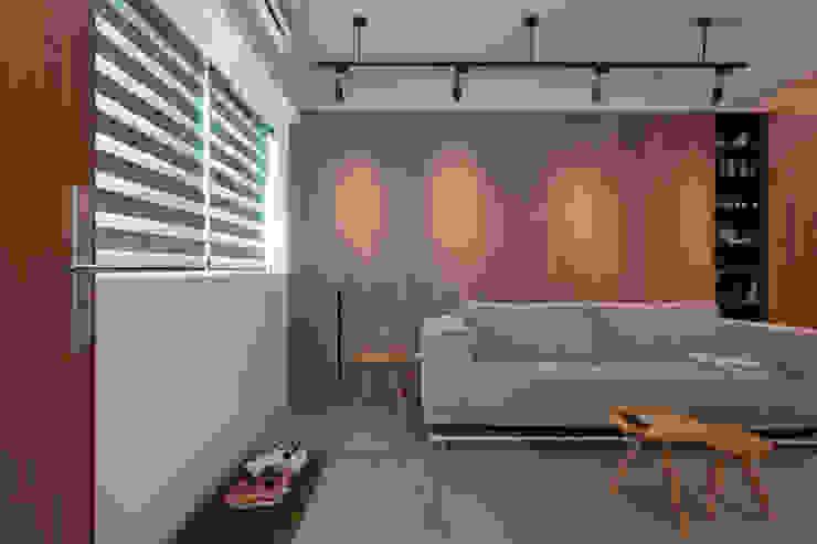 ZNY house 珞石設計 LoqStudio Modern Living Room