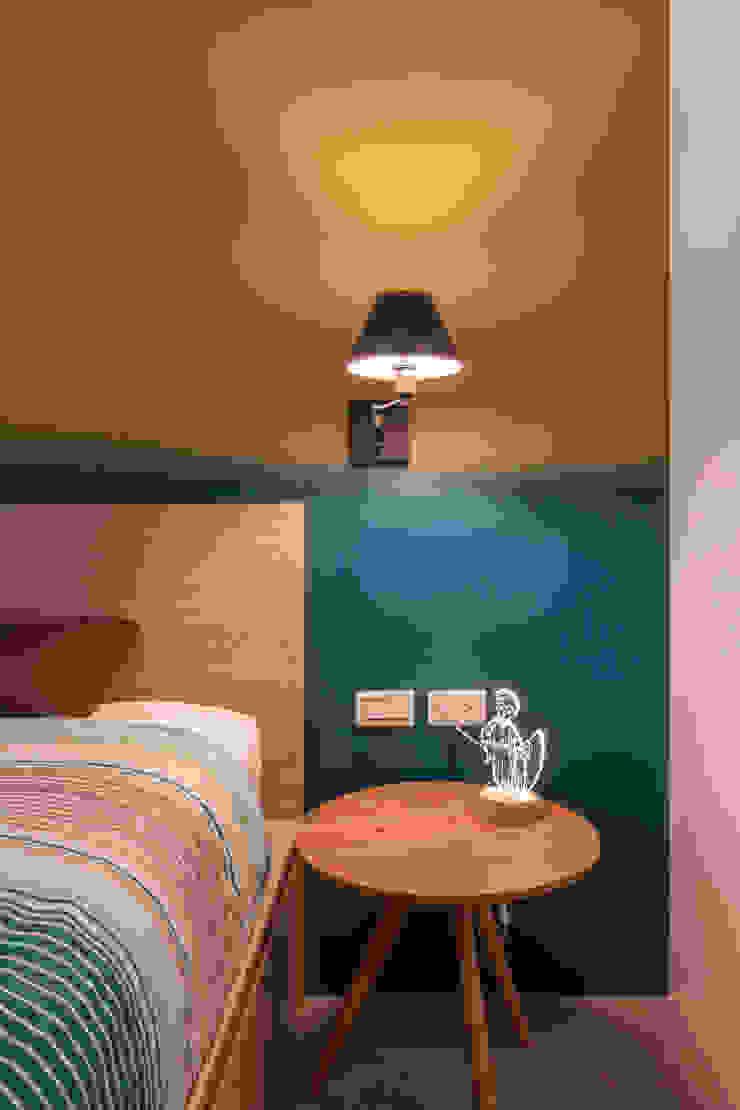 ZNY house 珞石設計 LoqStudio Modern Bedroom
