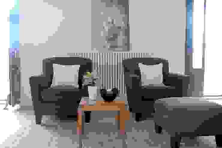 rosalba barrile architetto Ruang Keluarga Modern