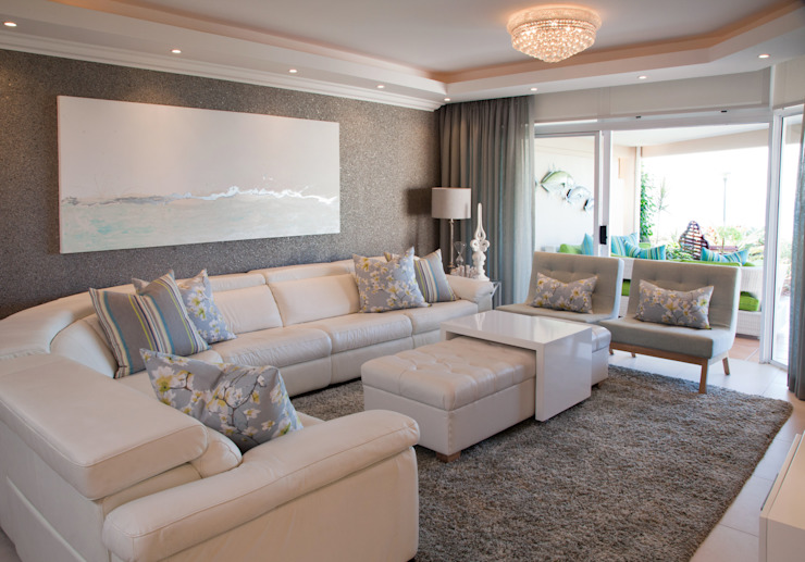 Living room by Frans Alexander Interiors, Modern