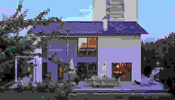 Kitzlinger Architektenhaus mit großzügiger Terrasse KitzlingerHaus GmbH & Co. KG Moderne Häuser