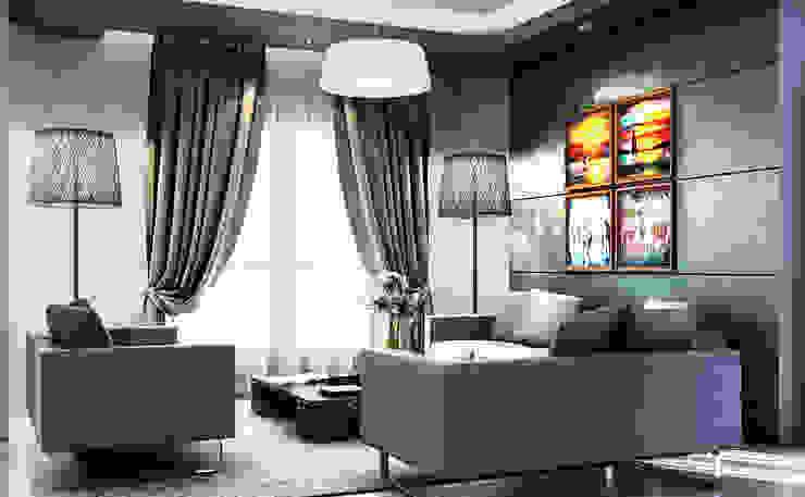 Ruang Keluarga oleh Boly Designs, Modern