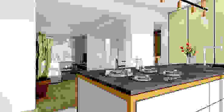 Keuken Moderne keukens van De Nieuwe Context Modern Koper / Brons / Messing