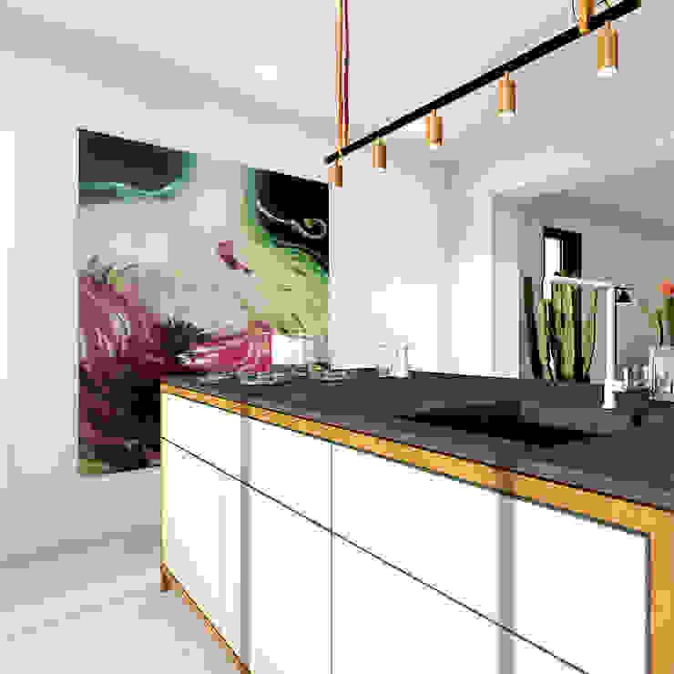 Keuken Moderne keukens van De Nieuwe Context Modern Beton