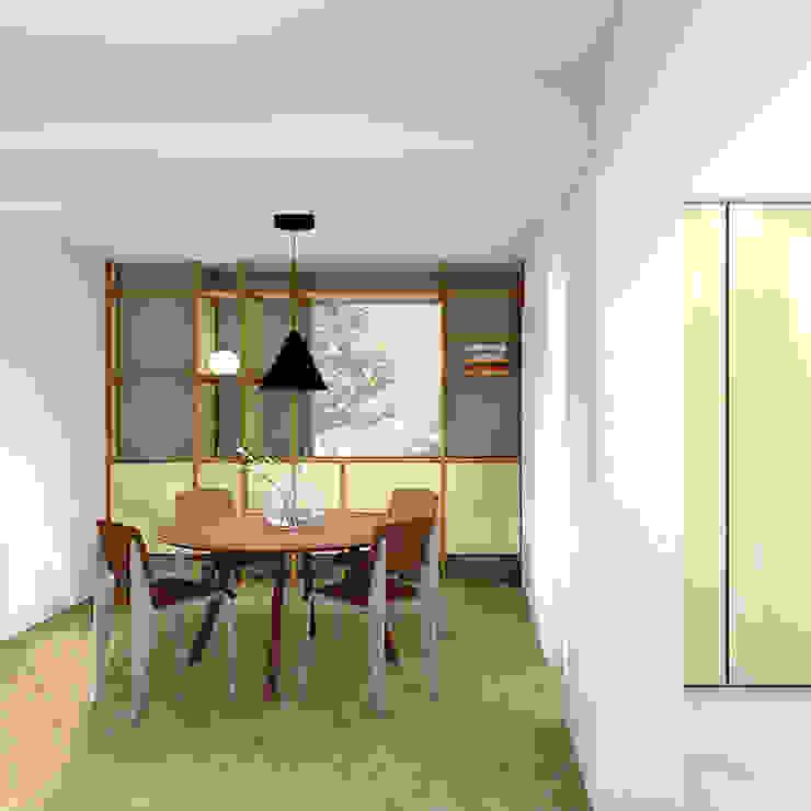 Eetkamer Moderne eetkamers van De Nieuwe Context Modern Koper / Brons / Messing