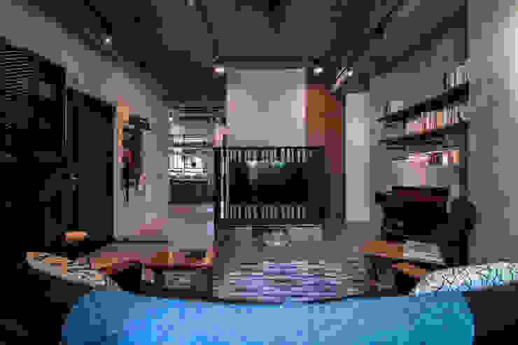 WLL house 根據 珞石設計 LoqStudio 工業風