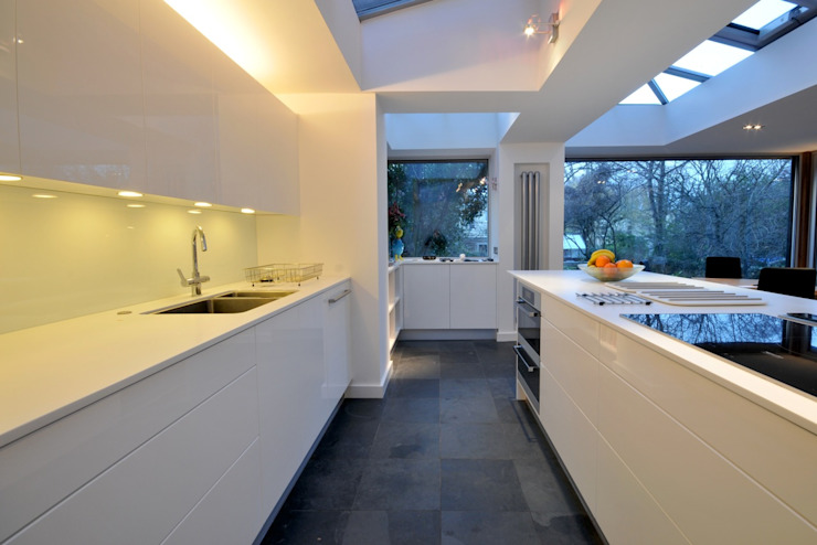 Kitchen Extension, Clifton, Bristol Modern kitchen by Richard Pedlar Architects Modern