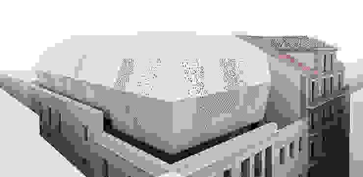 Bairro Alto Casas modernas por Luis Narciso Arquitectos Lda Moderno Betão armado