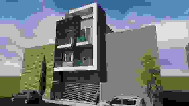 casa habitacion Casas modernas de JL2 Arquitectura y Urbanismo Moderno