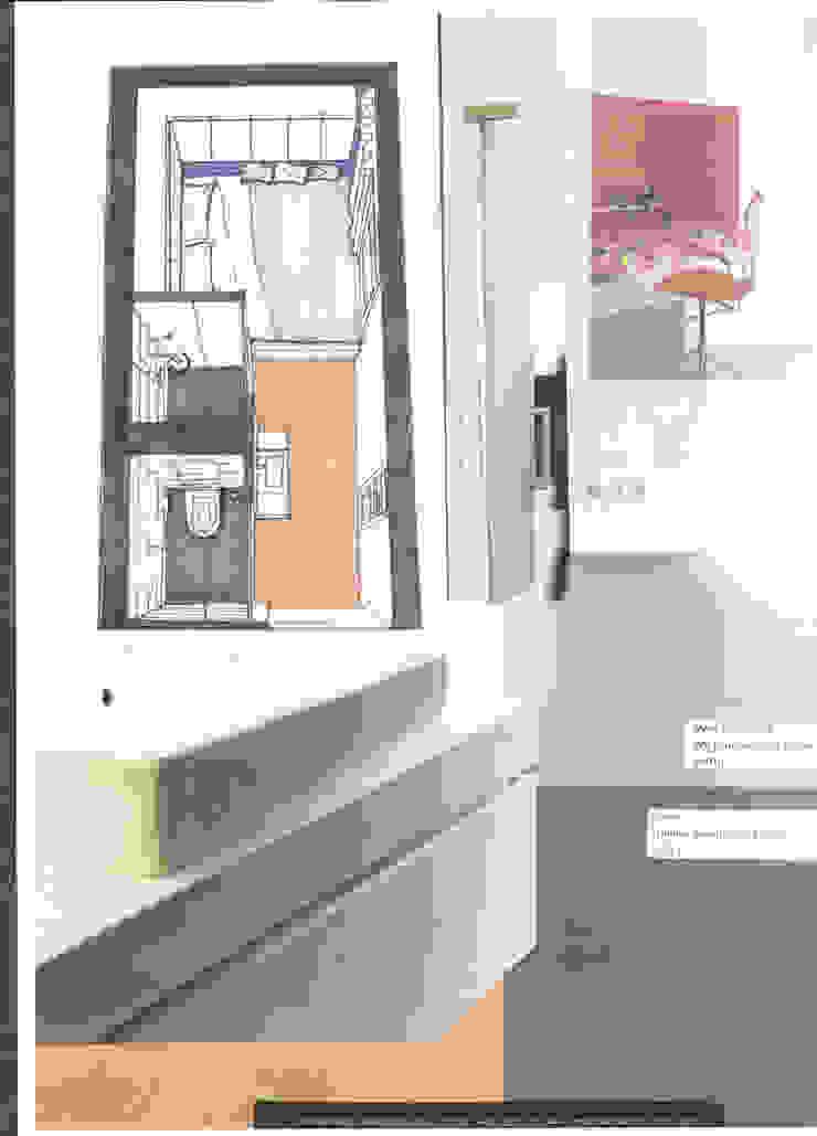 Verbouwing geheel pand Singel te Amsterdam: modern  door LINDESIGN Amsterdam Ontwerp Design Interieur Industrieel Meubels Kunst, Modern