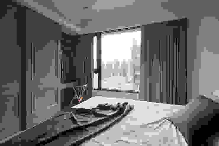 東京中城 潘宅 根據 思維空間設計 現代風