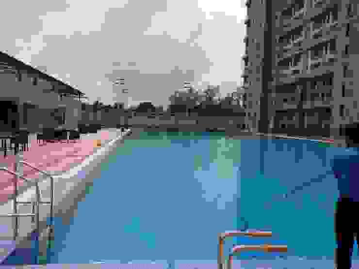 Repair of Olympic sized Swimming Pools @ Navi Mumbai Asian style schools by RENOLIT SE / WATERPROOFING DIVISION Asian