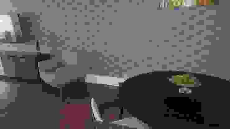 Sala de Estar e Jantar 2nsarq Salas de jantar modernas Preto