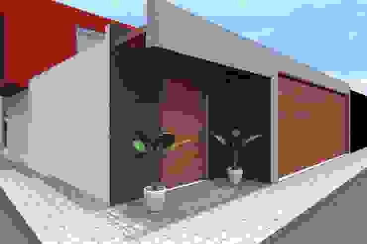 VIVIENDA UNIFAMILIAR: Casas de estilo  por TECTONICA STUDIO SAC,