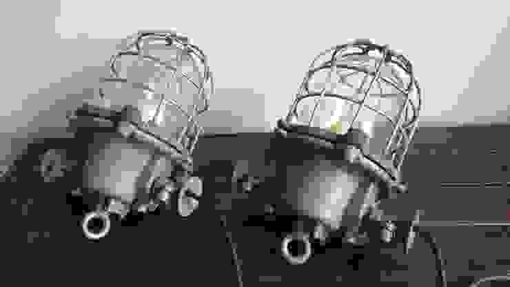 industrial old lamps: industrial  by INDUSTRIALHUNTERS, Industrial Iron/Steel