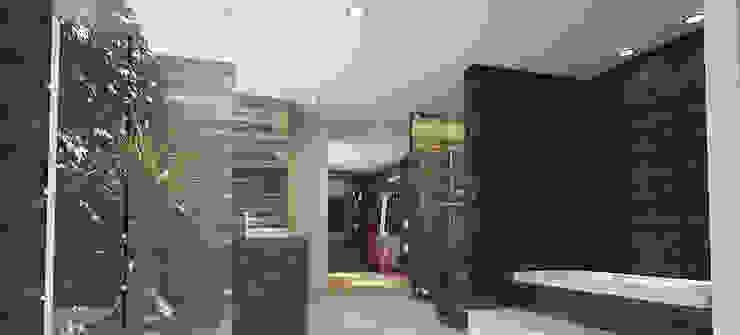 BAÑO PRINCIPAL Baños de estilo minimalista de 9.15 arquitectos Minimalista