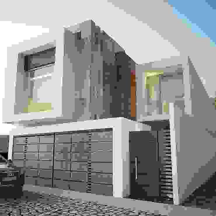 FACHADA PRINCIPAL Casas de estilo minimalista de 9.15 arquitectos Minimalista