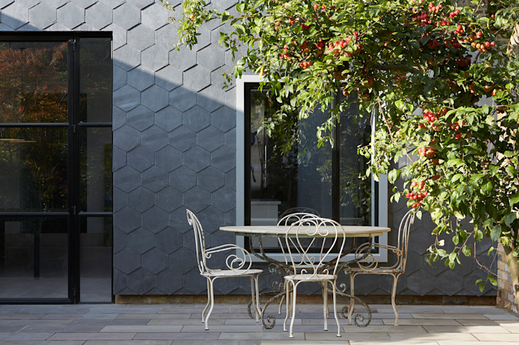 The Slate House Case moderne di Gundry & Ducker Architecture Moderno Ardesia
