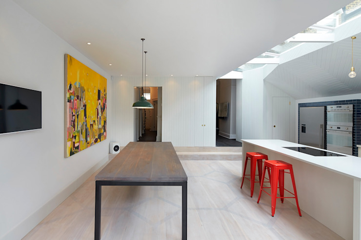 The Slate House Modern kitchen by Gundry & Ducker Architecture Modern Wood Wood effect