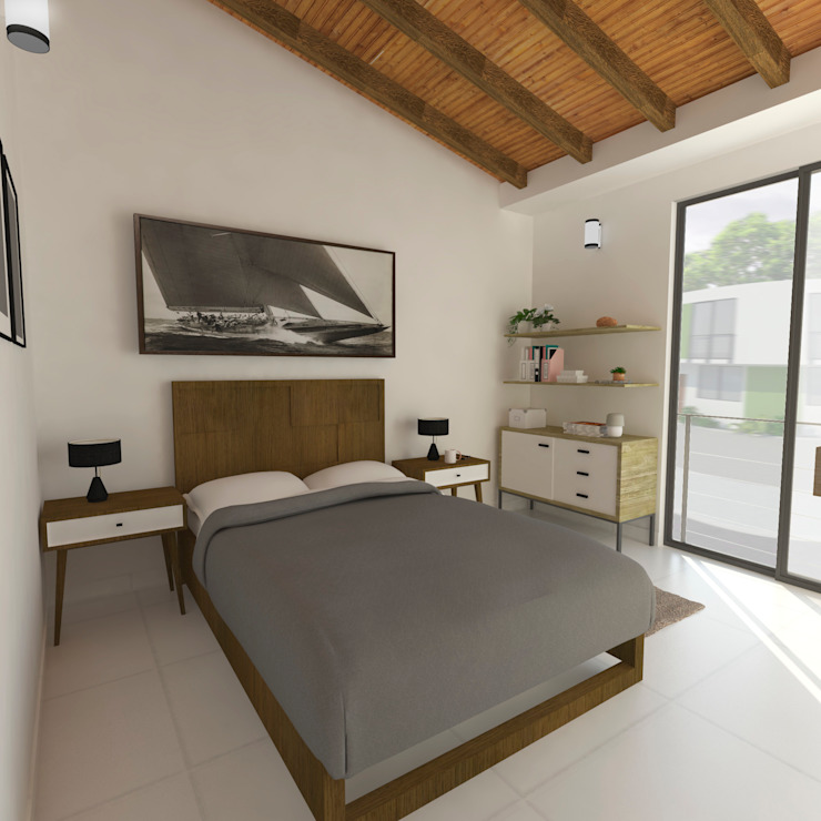 Modern Bedroom by Polygon Arquitectura Modern