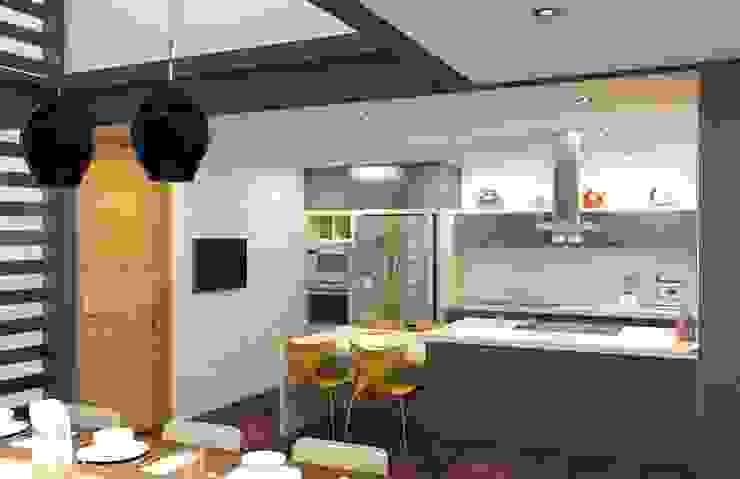 Eclectic style kitchen by Arq. Rodrigo Culebro Sánchez Eclectic