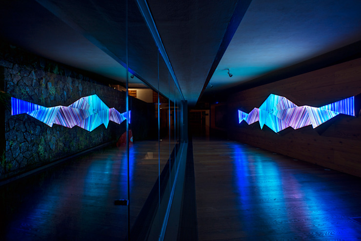 Residencia Valle de Bravoo 02 de Studio Orfeo Quagliata Moderno Vidrio