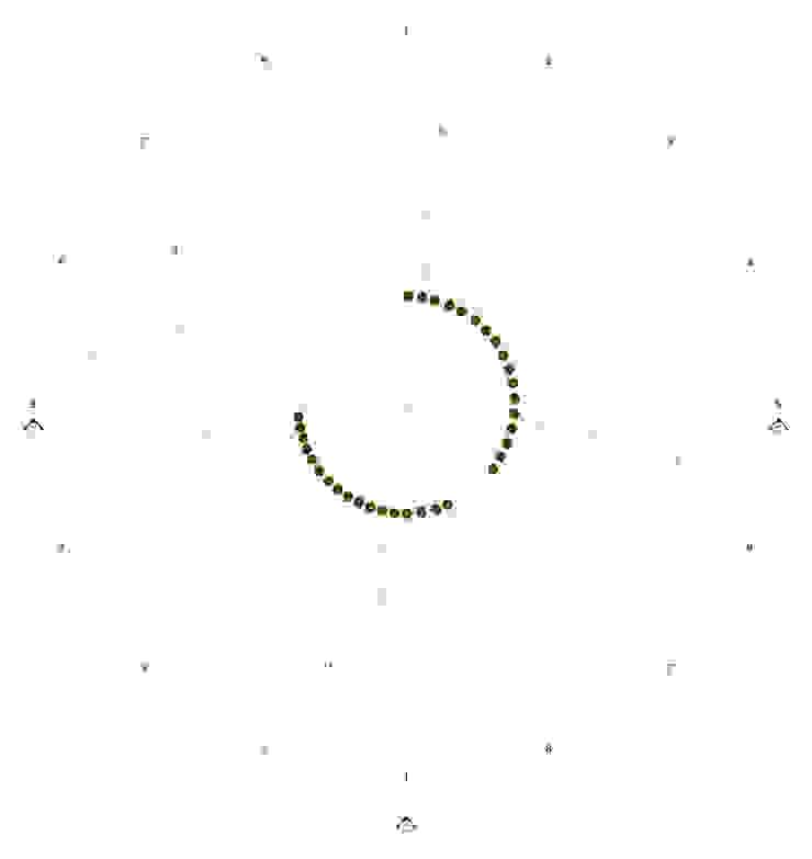 PLANTA NIVEL INFERIOR - 3.40 de EDUARDO NOVOA ARQUITECTO INDEPENDIENTE Moderno
