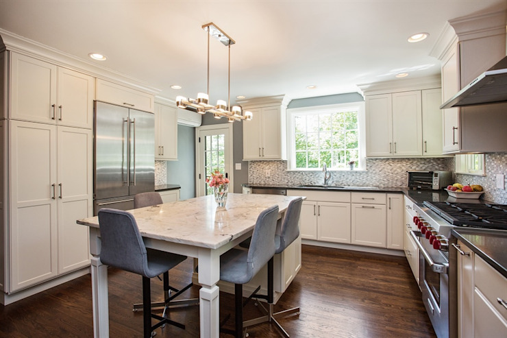 1920's Westchester Tudor Kitchen Redux by Kitchen Krafter Design/Remodel Showroom Classic