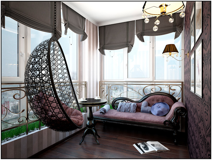 Classic style balcony, veranda & terrace by Artstyle Classic