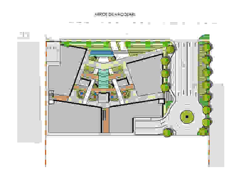 Planta de conjunto de Segovia ARQ Moderno