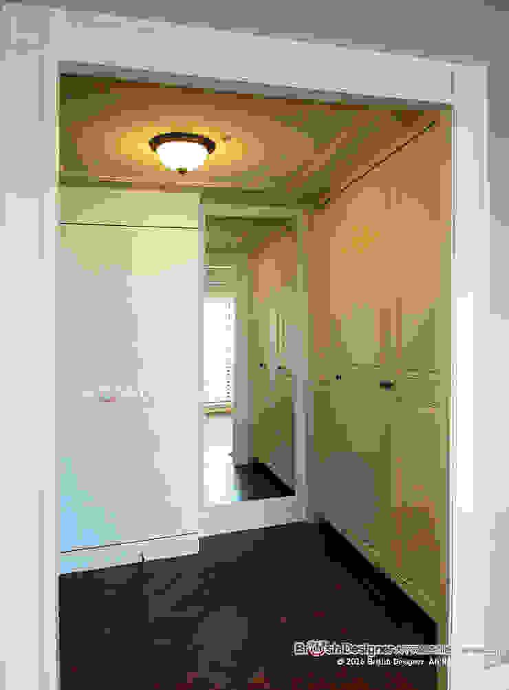 玄關 乡村风格的走廊,走廊和楼梯 根據 大不列顛空間感室內裝修設計 鄉村風