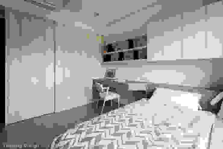 Dormitorios modernos: Ideas, imágenes y decoración de 思維空間設計 Moderno