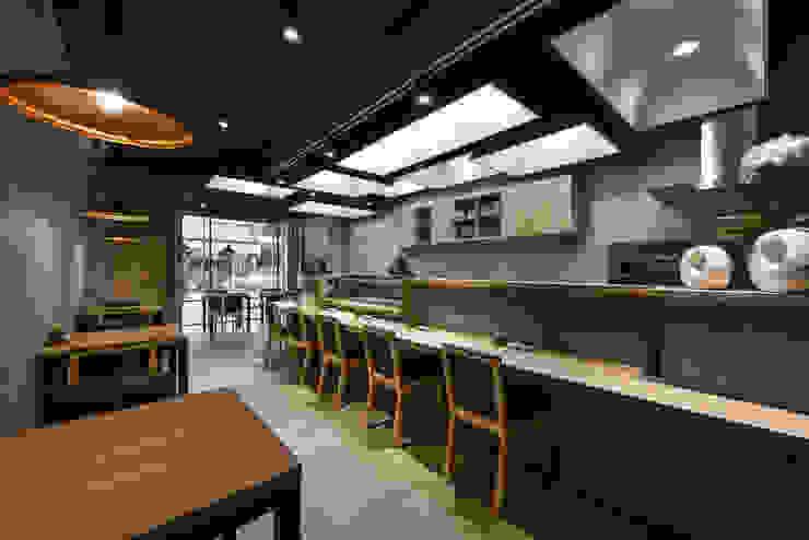 商空 │ 澄食 和食料理 │ 南投 根據 匯羽設計 / Hui-yu Interior design 現代風