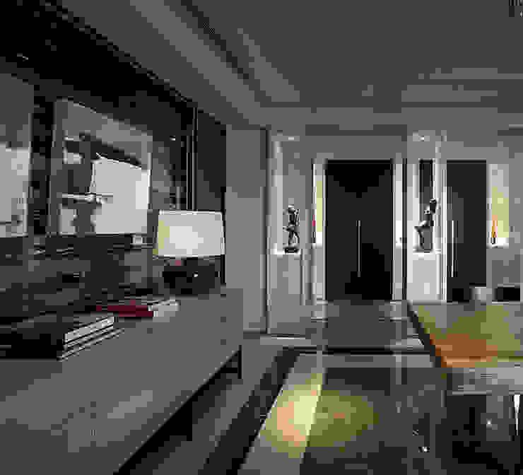 【大明大放 | Bright, Open space】 现代客厅設計點子、靈感 & 圖片 根據 天坊室內計劃有限公司 TIEN FUN INTERIOR PLANNING CO., LTD. 現代風