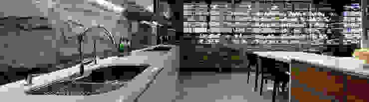 【大明大放 | Bright, Open space】 現代廚房設計點子、靈感&圖片 根據 天坊室內計劃有限公司 TIEN FUN INTERIOR PLANNING CO., LTD. 現代風