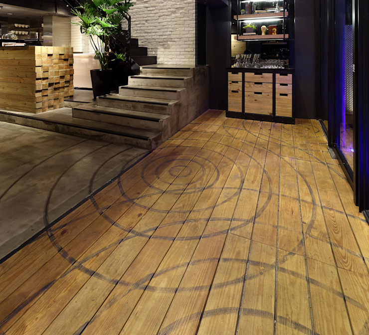 【好滴餐廳 | Drip Café】 根據 天坊室內計劃有限公司 TIEN FUN INTERIOR PLANNING CO., LTD. 工業風