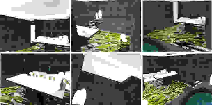 Sala de Tratamentos Balsâmica. Clínicas modernas por MUDE Home & Lifestyle Moderno
