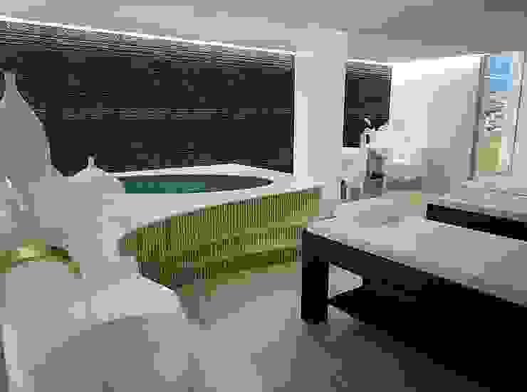 Sala de Tratamento Dupla Clínicas modernas por MUDE Home & Lifestyle Moderno