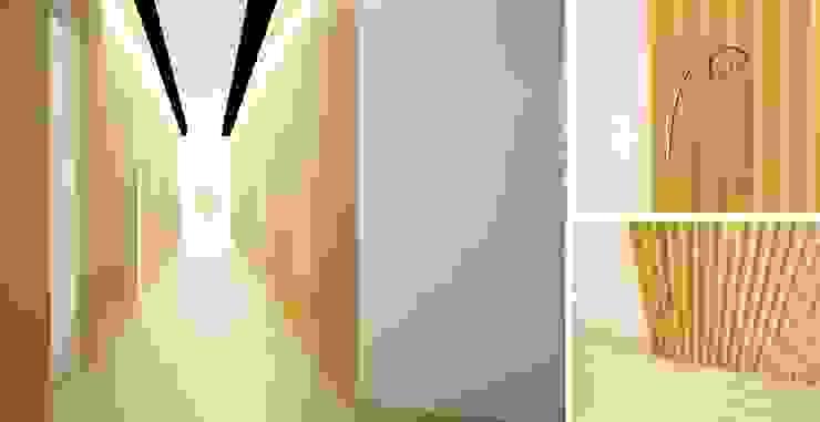 Zona de Acesso às Salas de Tratamento Clínicas modernas por MUDE Home & Lifestyle Moderno