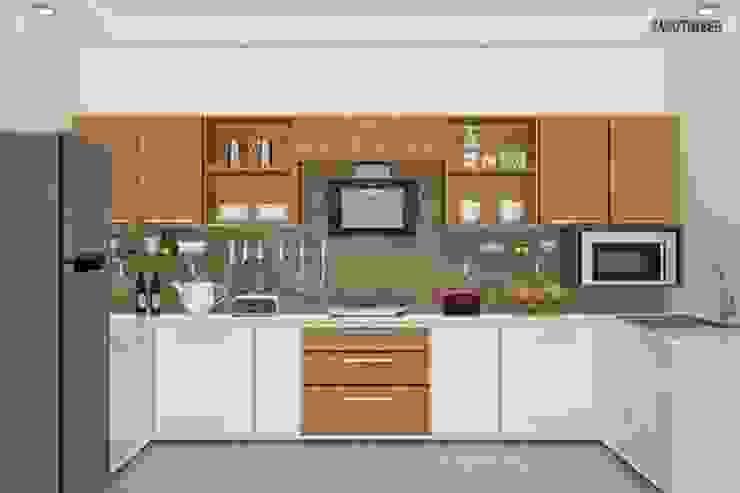 Modular Kitchen 1 by Yagotimber.com Modern Engineered Wood Transparent