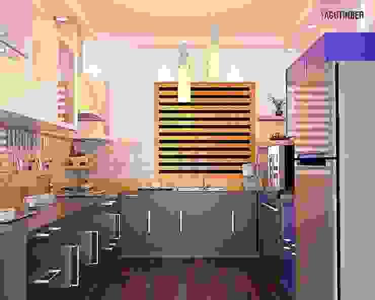 Modular Kitchen 3 by Yagotimber.com Modern Aluminium/Zinc