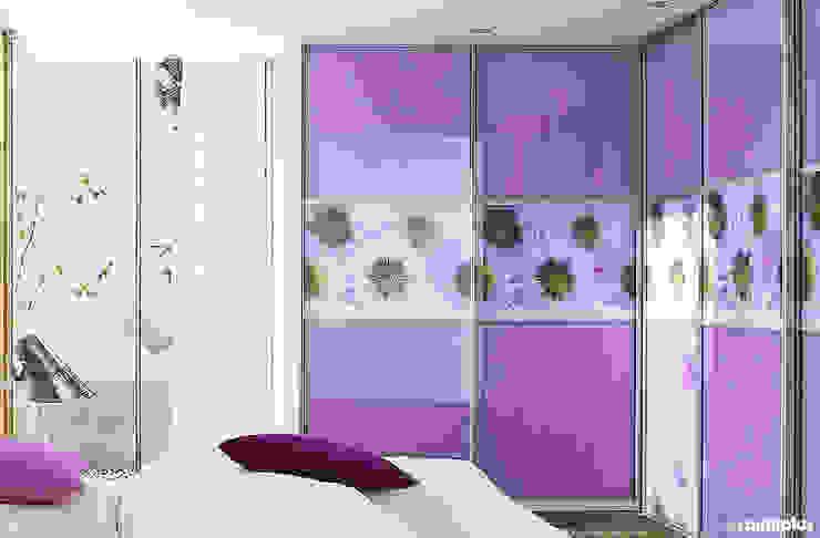 ООО «Раумплюс» ห้องนอนWardrobes & closets Purple/Violet