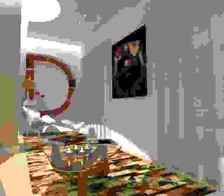 CASA AUGUSTA - Zona de Leitura Salas de estar modernas por EGO Interior Design Moderno