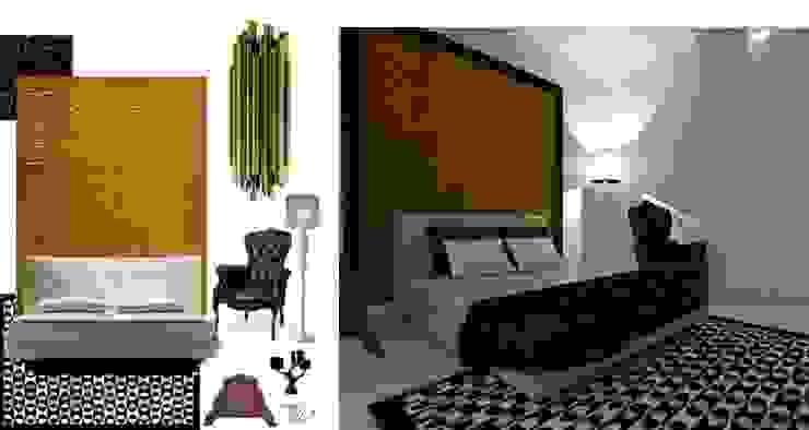 CASA AUGUSTA - Quarto Quartos modernos por EGO Interior Design Moderno