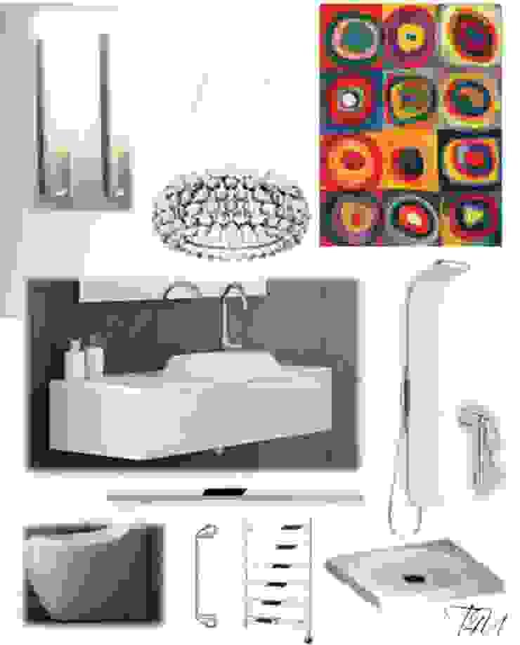 CASA AUGUSTA - Casa de banho Casas de banho modernas por EGO Interior Design Moderno